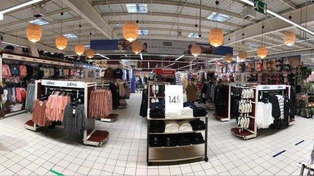 Shop-in-shop : Gémo débarque dans 100 Intermarché et teste le concept avec Total