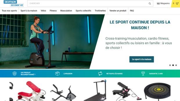 Decathlon lance un nouveau site e-commerce pour ses produits reconditionnés