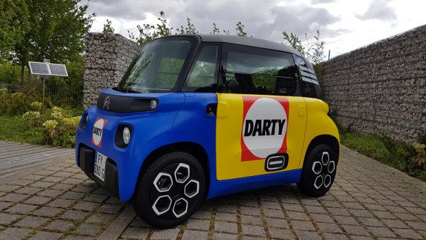 Mobilité urbaine : Fnac Darty a vendu 17% des Citroën Ami