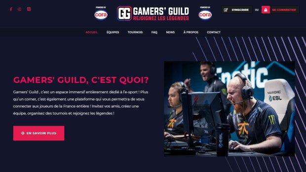 Gamers' Guild : le projet de Cora pour se positionner sur l'e-sport et le gaming