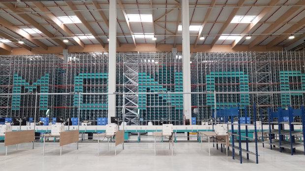 Monoprix s'offre un entrepôt XXL omnicanal, robotisé et carbone neutre