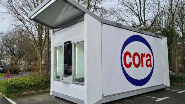 Avec EasyBox, Cora propose des points de retrait sur les lieux de travail