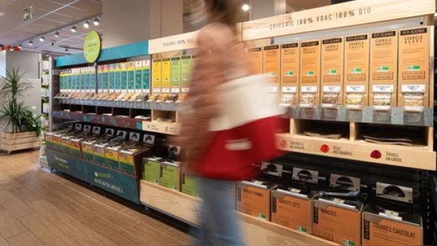 Franprix expérimente la vente en vrac de marques nationales