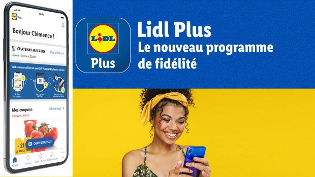 Lidl Plus sert à cumuler des points pour avoir des remises et inclus aussi de la gamification. - © Lidl