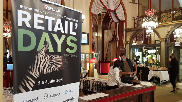 Retail Days Printemps a réuni 50 sponsors et 100 directions d'enseignes. - © CC/ Républik Retail