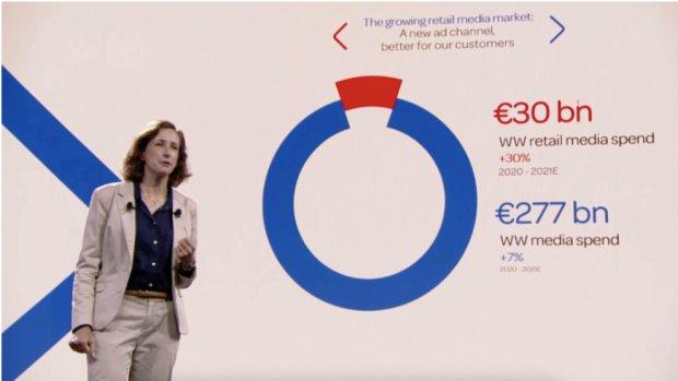 Elodie Perthuisot, directrice e-commerce, transformation digitale et data chez Carrefour. - © D.R.
