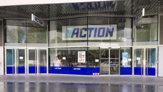 Action a ouvert son 600<sup>e</sup> magasin dans Paris. Dès l'ouverture, les consommateurs s'y sont rués. - © Action