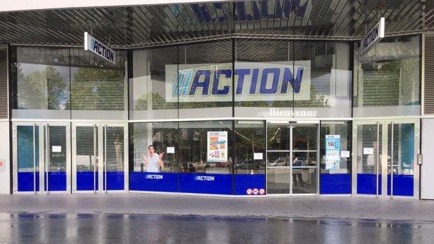 Action a ouvert son premier magasin parisien au 181 boulevard Macdonald, Paris 19. - © Action