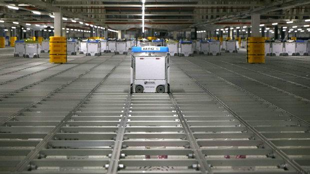 O'Logistique exploite l'entrepôt doté de la technologie Ocado depuis mars 2020. - © Ocado
