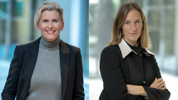 Caroline Dassié et Morgane Weill (de gauche à droite). - © Carrefour