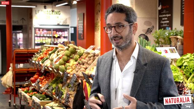 Allon Zeitoun, lors d'une conférence digitale, a annoncé, entre autres, le partenariat avec Ocado. - © D.R.