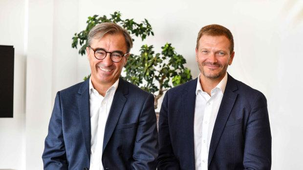 Benoît Jaubert (Directeur général) et Olivier Padieu (Président), Groupement Optic 2000. - © Charly Hel
