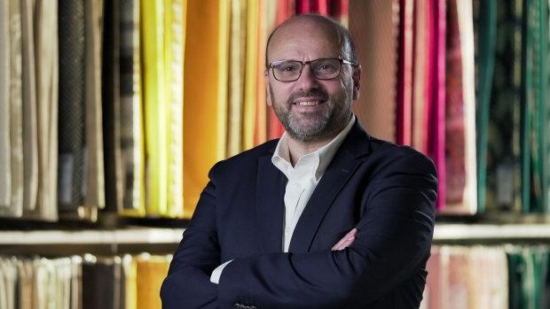 Bernard Cherqui, président du directoire de Mondial Tissus. - © Mondial Tissus