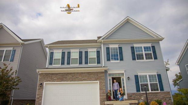 Les tests de livraisons commerciales par drone se multiplient aux Etats-Unis. - © Wing