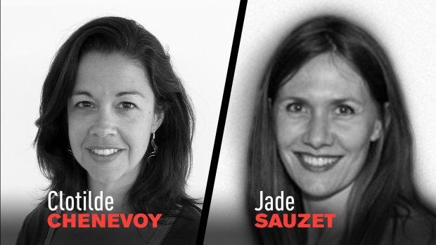 C.Chenevoy (Rédactrice en chef) et Jade Sauzet (Directrice Républik Retail) - © D.R.