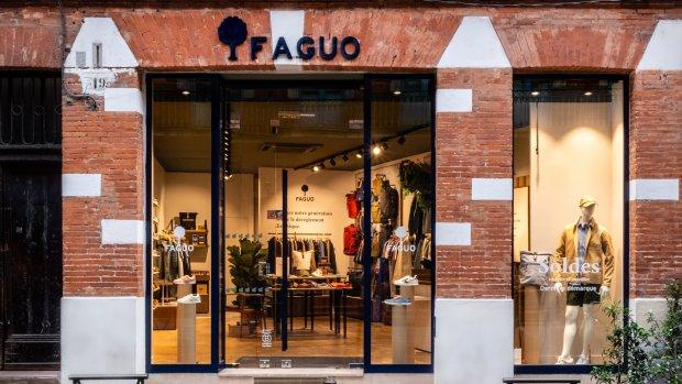 Faguo déploie un concept de magasin écoresponsable. - © Faguo