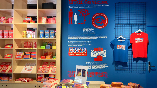 Tony's Chocolonely c'est «crazy about chocolate, serious about people!» - © L'Echangeur