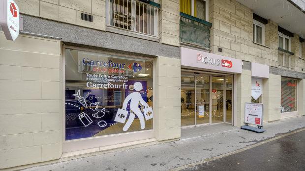 Le premier Pickup drive a ouvert le 26 mai à Paris7 dans le 19<sup>e</sup> arrondissement, 6 jours sur 7. - © D.R.