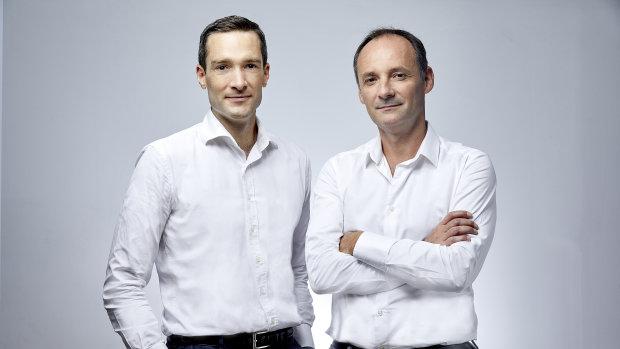 Philippe de Chanville et Christian Raisson, les co-fondateurs et co-CEO de ManoMano. - © BRUNO LEVY