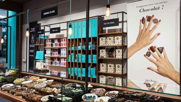 Tous les magasins Jeff de Brucges deviennent des points d'expédition. - © Jeff de Bruges