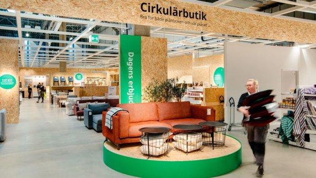 Ikea compte ajouter dans tous ses magasins en Suède d'ici cet été un espace seconde main. - © Ikea
