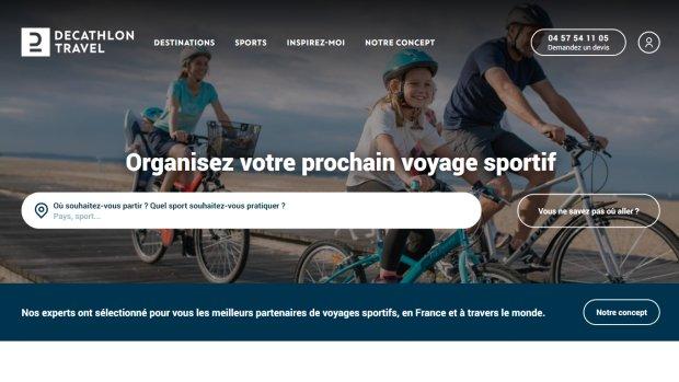 Decathlon Travel a été mis en ligne en juillet 2021. - © D.R.