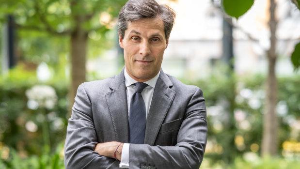 Alexandre Rubin est CEO d'Yves Rocher France et Benelux depuis février 2018. - © Emmanuel Berthier