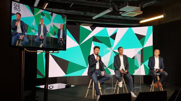 Philippe Thirache, directeur général, et Renaud Montin, directeur marketing et digital de Gémo. - © CC / Républik Retail