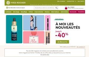 Yves Rocher prévoit de refondre son site e-commerce en 2021. - © D.R.