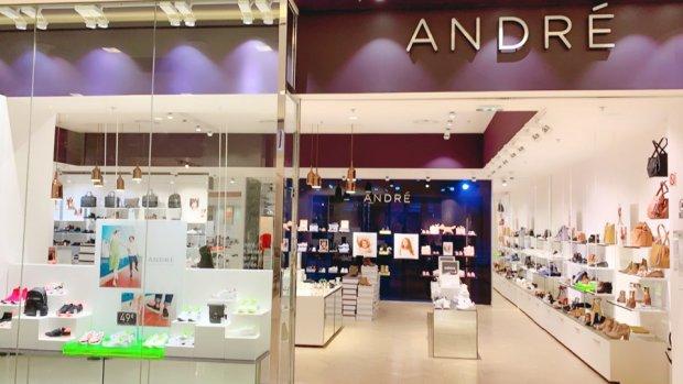 Un nouveau concept de magasin arrivera prochainement pour retranscrire le nouvel élan d'André. - © André