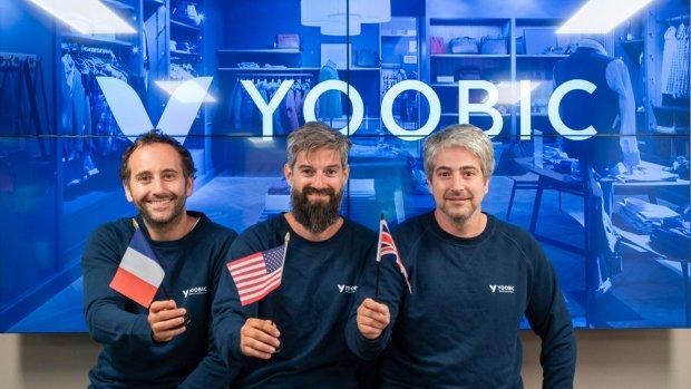 Gilles, Fabrice et Thierry Haïat sont les fondateurs de Yoobic. - © Yoobic
