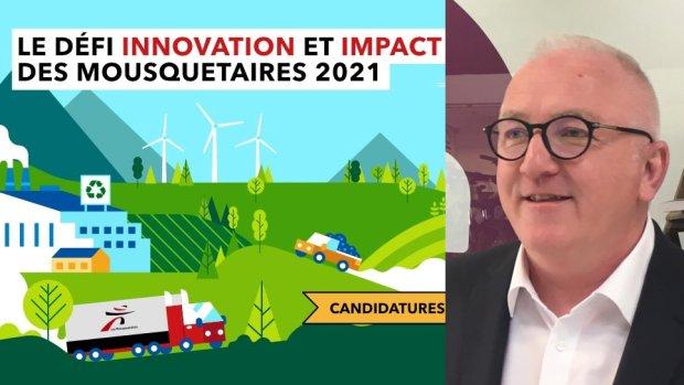 Frédéric Renaud, chef d'entreprise Mousquetaires en charge de la direction Innovation du Groupement - © D.R.