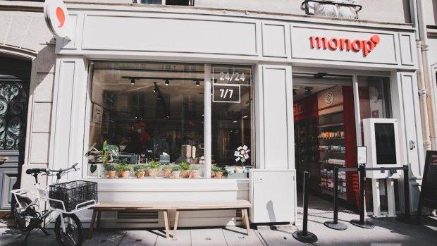 Un nouveau concept Monop' a été ouvert au 3 rue de Marseille à Paris. - © Monoprix