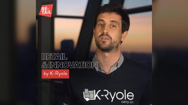 Nicolas Duvaut, CEO fondateur de K-Ryole et gagnant des Trophées de la Nuit du Commerce Connecté. - © Républik Retail