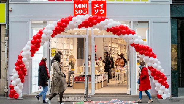 Miniso a ouvert en octobre 2020 sa première boutique en France. - © Miniso