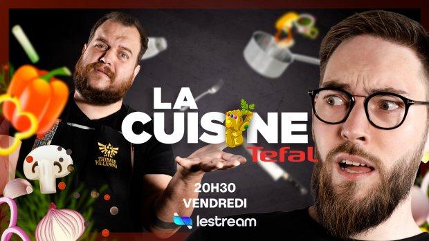 La marque sponsorise l'émission «La Cuisine» animée par Gastronogeek sur la chaîne LeStream. - © Tefal