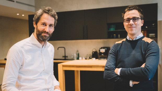 Louis Chatriot et Guillaume Desloges ont fondé Alma en 2017. - © Alma