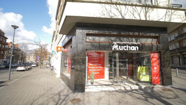 Le format drive piéton permet à Auchan de s'implanter en milieu urbain. - © Auchan