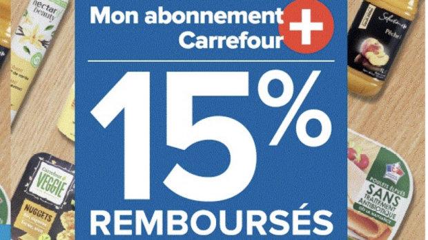 Avec l'abonnement, les clients de Rouen ont 15% de réduction permanente sur les MDD Carrefour. - © Carrefour