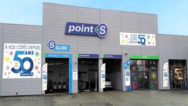 Tout le réseau Point S sera aux couleurs des 50 ans en 2021. - © Point S