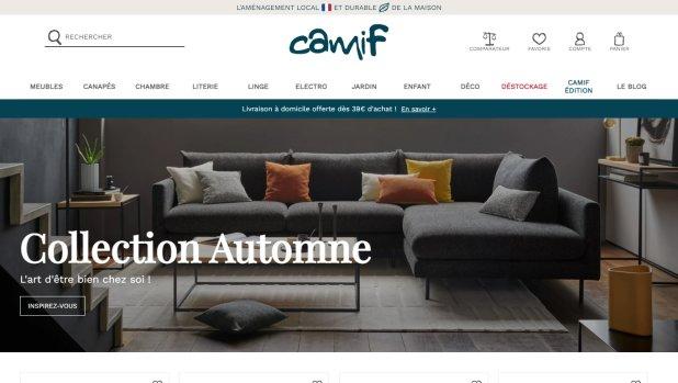 La Camif investit dans sa supply chain pour assurer une bonne expérience client. - © Camif