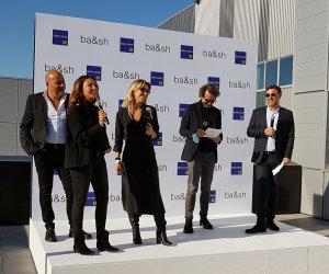 Les dirigeants de Ba&Sh ont inauguré la plate-forme située à Louvres (95) le jeudi 23 septembre. - © CC ./ Républik retail