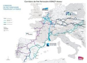 Connecté aux grands ports français, le réseau ferroviaire dépend aussi de leur modernisation. - © D.R.
