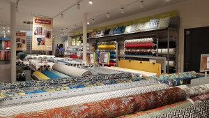 Le magasin fait 320 m2 avec 35m² d'atelier.