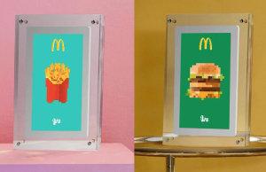 Le géant américain a récemment créé des contenus numériques qui reprennent les produits phares de l'enseigne pour les distribuer à ses fans sur les réseaux. - © McDonald's