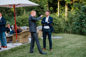 Olivier Cohn (Best Western) et Cyril Gollino (Scalapay) © Républik Retail / Manuel Abella
