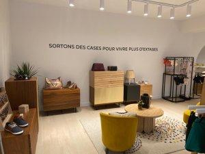 Sauvage Poésie veut devenir le lien tendance de Trouville sans le côté élitiste du concept-store. - © Sauvage Poésie