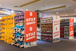 Dans le magasin de Beaugrenelle, Fnac a installé un corner Miniso. Le partenariat doit se renforcer sur 2021. - © Karen Assayag