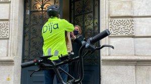 L'anglais Dija a levé 20 millions de dollars et ses livreurs sont des salariés. - © Dija