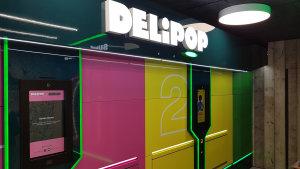 Delipop a un look volontaire funky pour palier l'absence de présence humaine. - © CC / Républik Retail